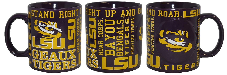 Boelter NCAA LSU Tigers 14oz Slogan Mug