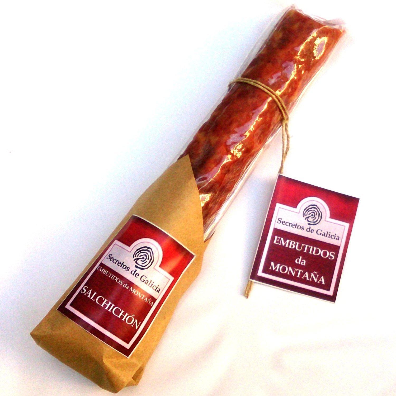 Estuche gourmet Chorizo Extra, Salchichón de Montaña y Grelos al Natural: Amazon.es: Alimentación y bebidas