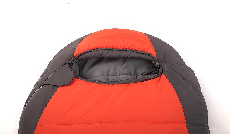 Orange 200/x 80/x 50/cm Lestra ssbasdv01d200/Base Camp Schlafsack