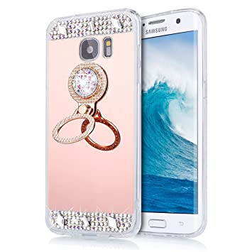 coque samsung galaxy s6 edge rose gold