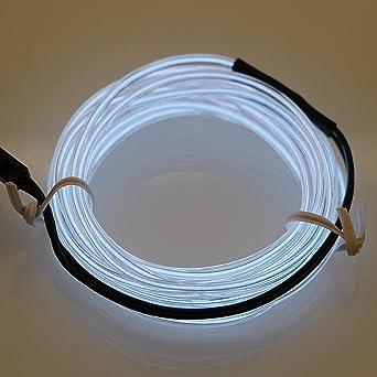 Lerway® 3M Elektrolumineszenz Neon EL Wire Rope Kabel LED für ...