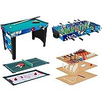KMH Spieltisch 12 in 1 / Multigame Tisch / Multifunktionstisch / Billard / Kicker / Gleithockey / Tischtennis usw. (#800031)