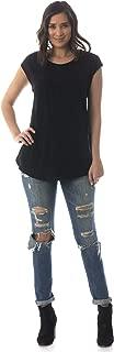 product image for Majamas Iris Top - Soft Short Sleeve Maternity/Nursing/Breastfeeding Swing Shirt