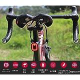 【夜の空】 自転車用テールライト USB充電 と防水ブレーキ/ライトセンサー付き - 自動照明/デザイン、フル CNCシャーシ(xlite100アップグレード版) 自動点灯 自転車ライト