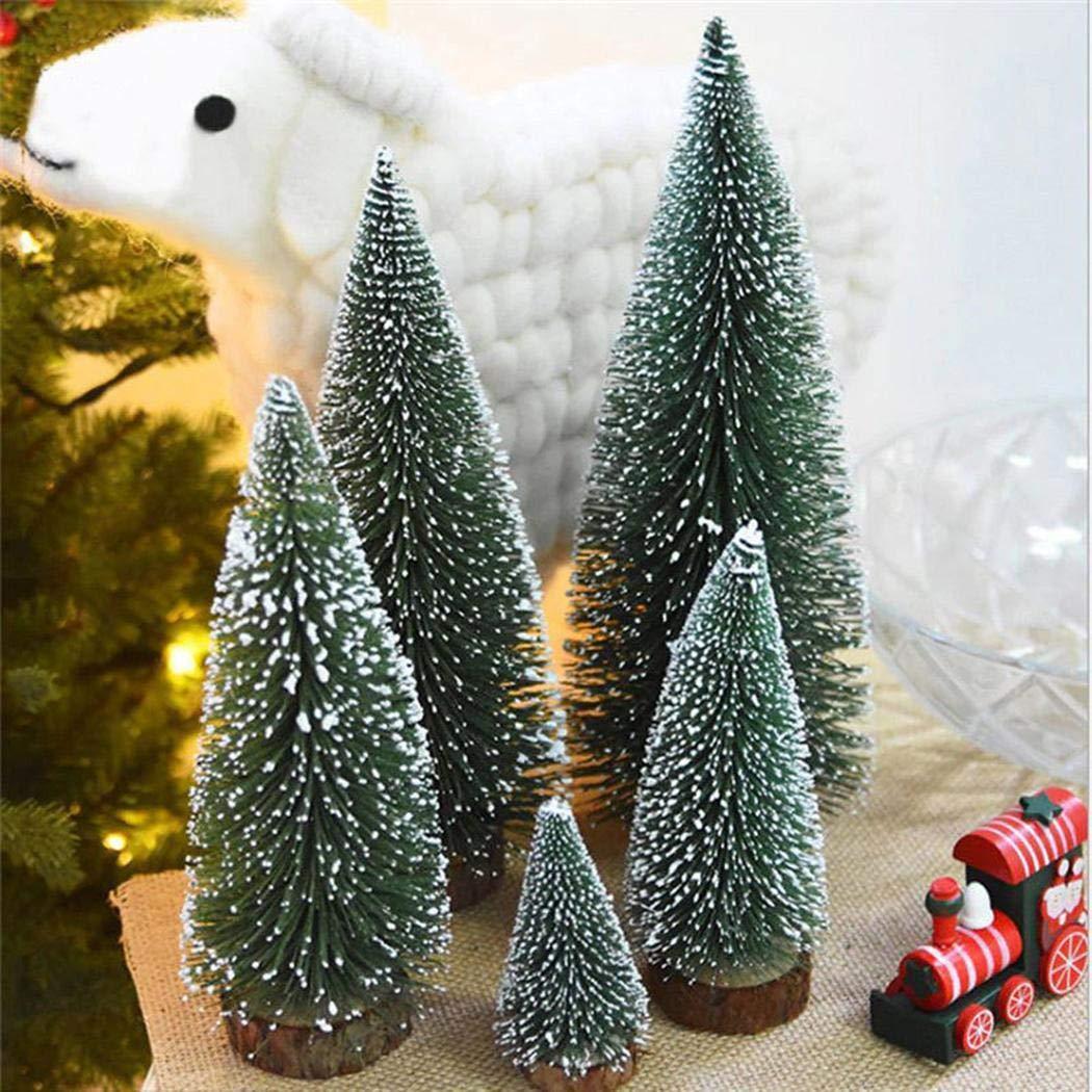 Acecoree Mini Cedro Árbol de Navidad con LED Miniatura Regalo para Navidad: Amazon.es: Hogar