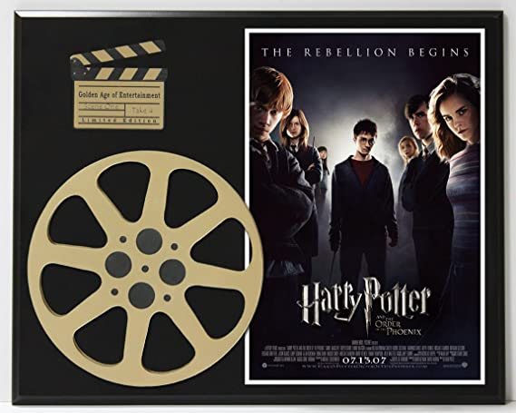 Harry Potter And The Order Of The Phoenix Ltd Edition Movie Reel