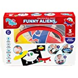 Picnmix Aliens Educational Memo Game and Puzzle Toy for 3 year olds to 7 year olds