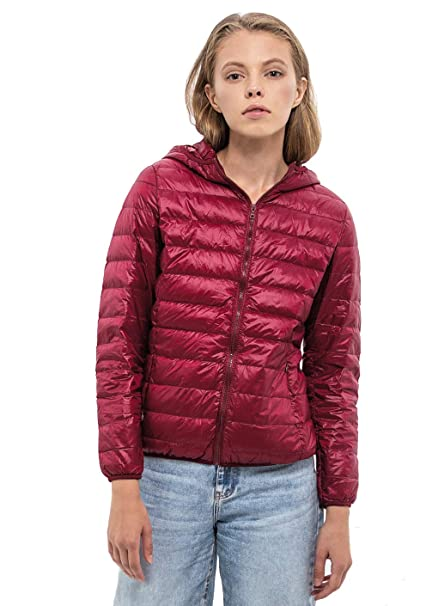 Chaquetas de Mujer Invierno Goose Chamarras Light Down Packable Jacket for Women