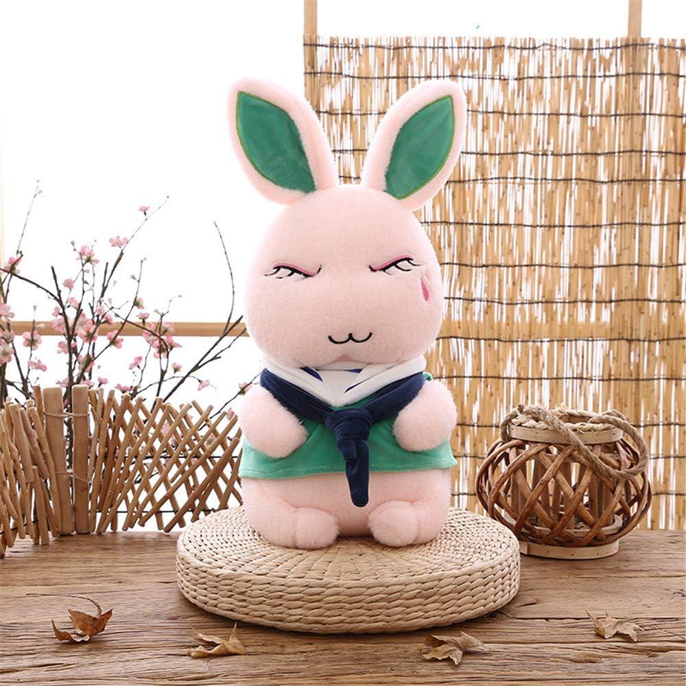 SXPC Lindo Conejo de Felpa de algodón de Down muñeca de Juguete Blanda rellenas Regalo muñeca de Juguete