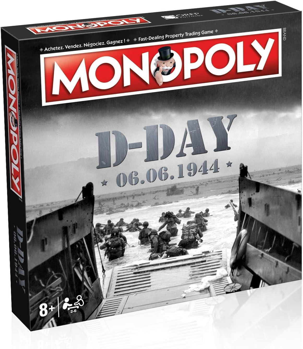 Monopoly D-Day - Juego de Mesa (versión bilingüe en inglés): Amazon.es: Juguetes y juegos