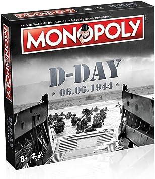 Winning Moves - Monopoly D-Day 0462, versión bilingüe francés e inglés: Amazon.es: Juguetes y juegos