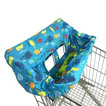 Per Cojines para Carrito de Compras para Bebés Niños Fundas para Asientos de Carro de Supermercado Multifuncional Bolsa de Compra: Amazon.es: Hogar