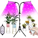 FullightGrow 4-Head Smart Sunlike Spectrum Lamp for Indoor Plants