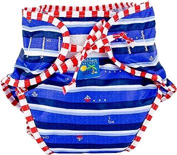 X-Large,Blue Solid,X-Large, Kushies Baby Unisex Swim Diaper