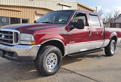 2016 Ford Excursion >> Iboard Black Running Boards Style Custom Fit 1999 2016 Ford F250
