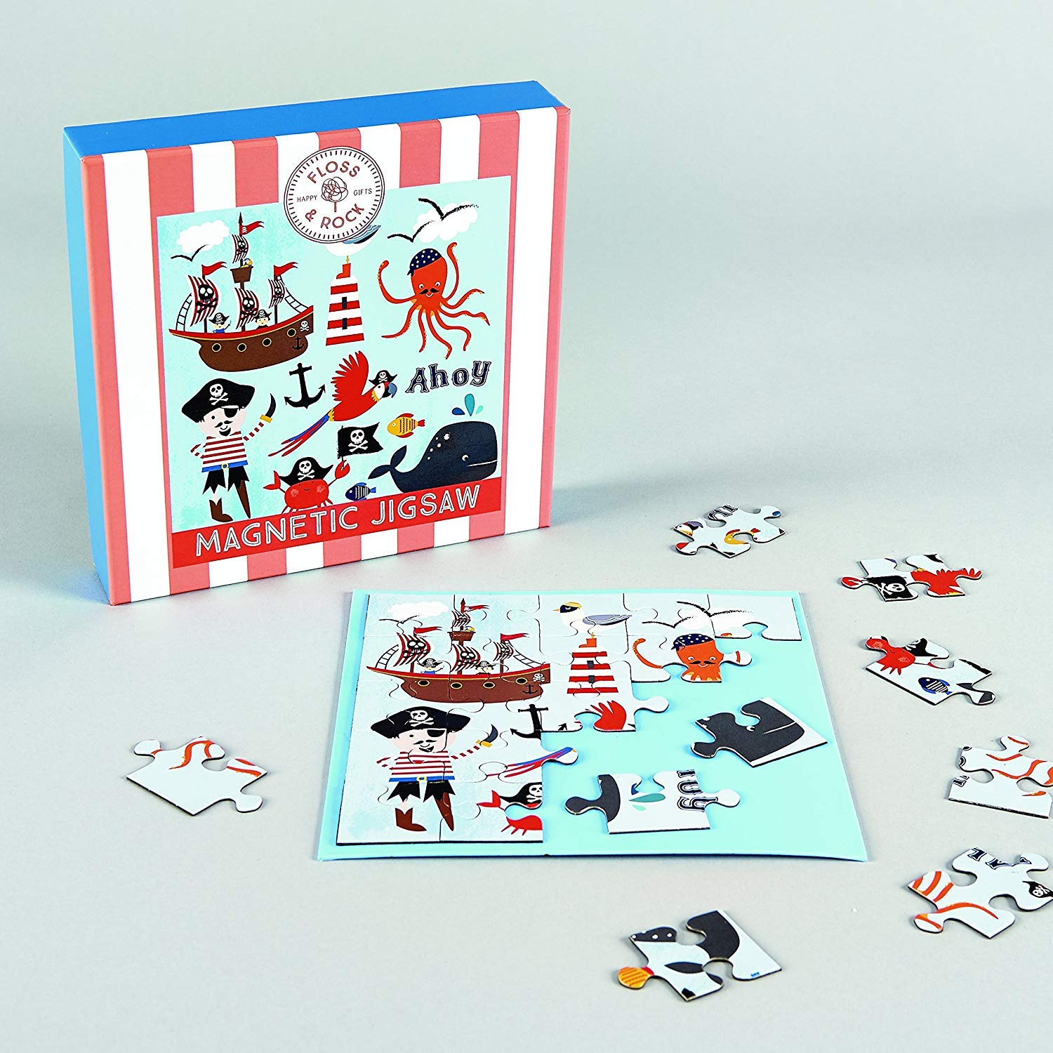 Floss & Rock Pirate Magnetic Jigsaw 25 Pieces