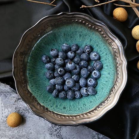 Vintage cerámica cubertería Creative Ramen cuenco para sopa (hogar frutas ensaladera