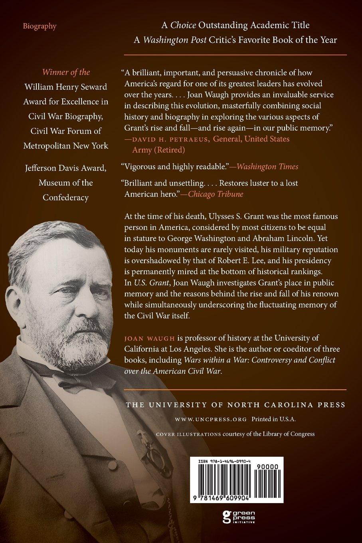 U. S. Grant: American Hero, American Myth (Civil War America): Joan Waugh:  9781469609904: Amazon.com: Books
