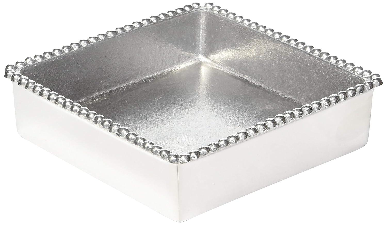 Mariposa Beaded Napkin Box (2-(Pack))