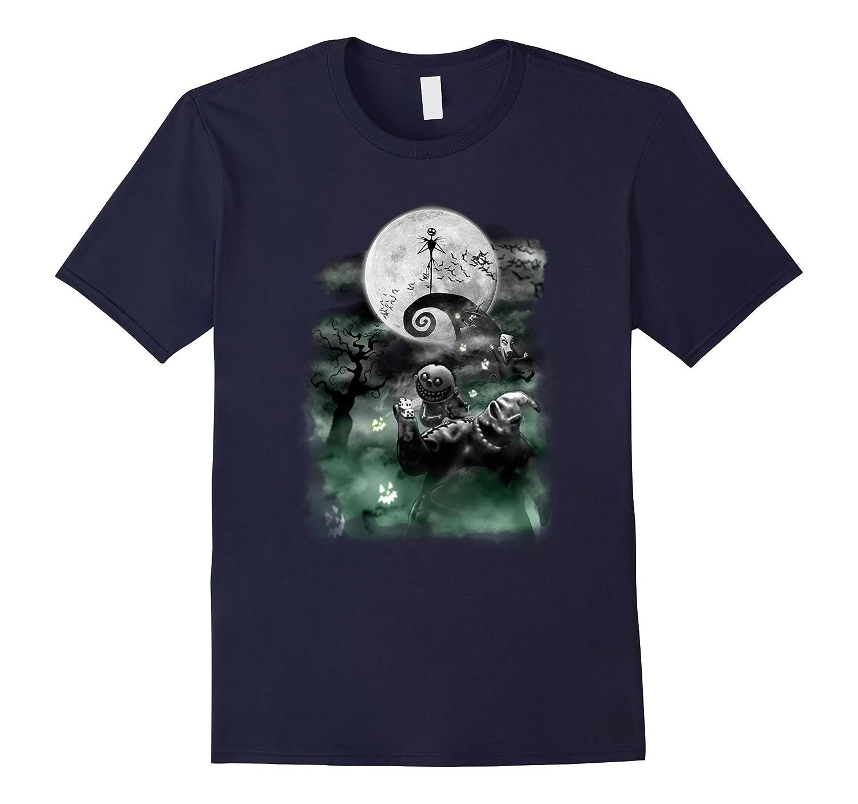 Disney Nightmare Christmas Haunted T Shirt-Tovacu
