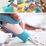 ewinever(R) Pastry DIY Cake Cookies Dessert Decorating Bag Nozzle Pen Set for Cake Cream Deco Icing Piping Tips Tool