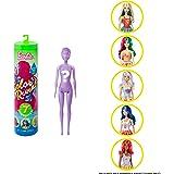 Barbie Reveal 2da ola Inspirada en la gastronomía, muñeca que cambia de color con agua (Mattel GTP41) , color/modelo surtido