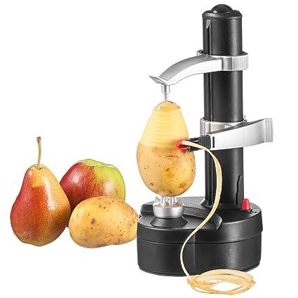 Goods & Gadgets Acoplador De Patatas pelador Manzana pelador de Verduras Pelador Frutas pelador eléctrico pelador