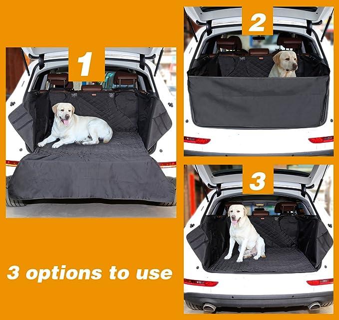 OUYAWEI 35 Coque de protection en caoutchouc pour coffre arri/ère de voiture