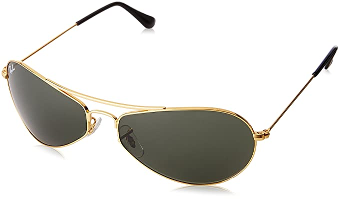fd360d67f7b739 Image Unavailable. Image not available for. Colour  Ray-Ban UV protection  Rectangular Unisex Sunglasses (0RB3306I00160 58 millimeters Crystal Green