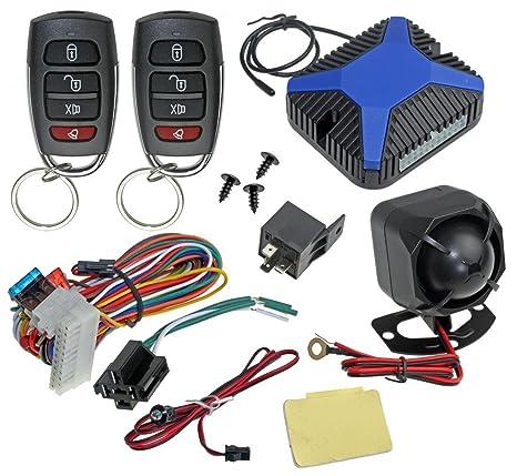 amazon com installgear car alarm security keyless entry system installgear car alarm security keyless entry system trunk pop two 4 button