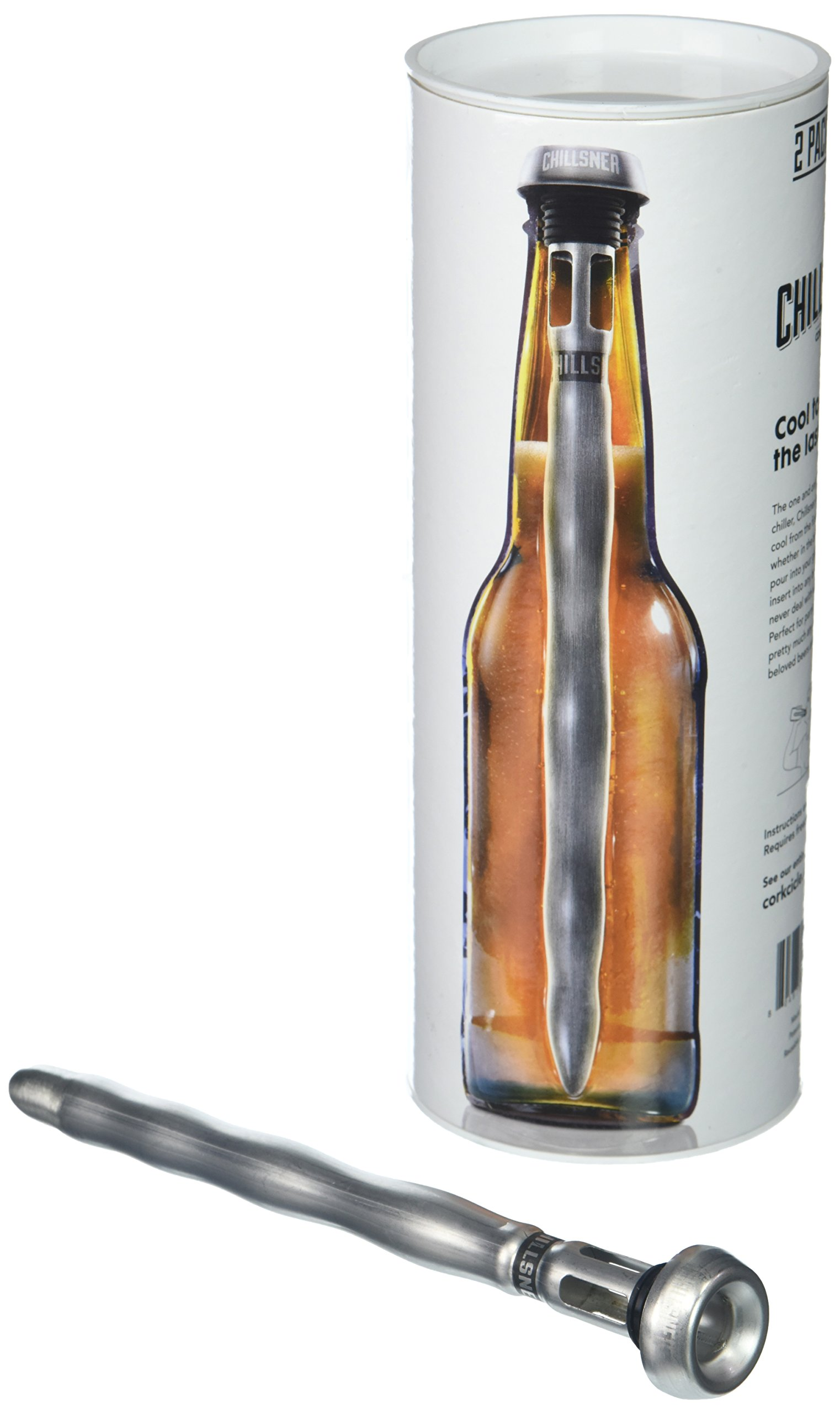 Corkcicle Chillsner Beer Chiller, 2-Pack by Corkcicle