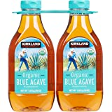 Kirkland Signature Organic Blue Agave All Purpose Sweetener, 36oz Bottle (Pack Of 2, Total of 72 Oz)