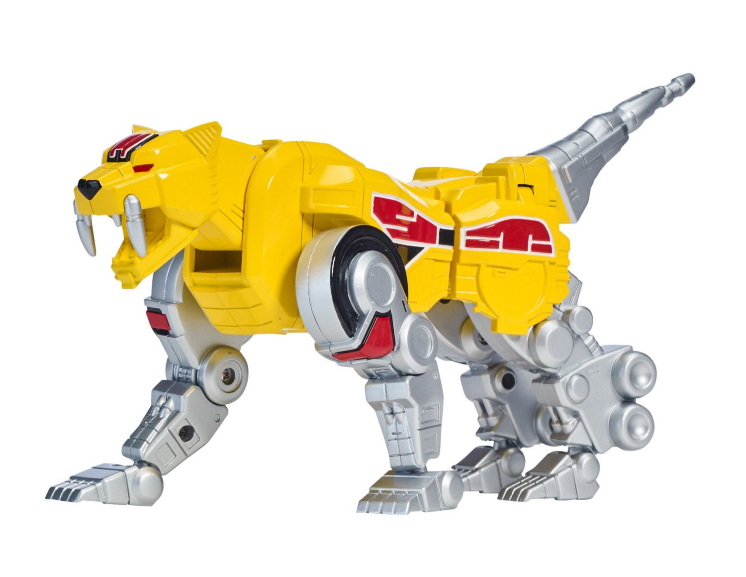 Sabretooth Tiger Zord Bandai Bandai America Incorporated 40306 Power Rangers Mighty Morphin Sabertooth Tiger Zord Action Figure