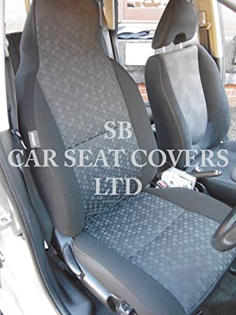 r - SUITABLE FOR VAUXHALL CORSA CAR, SEAT COVERS, ROSSINI HONEYCOMB