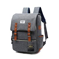 Ordinateur Portable 15 Pouce ,Convient à Ac A Dos Femmes Homme Et Business College Photo Daypacks by Puersit s Durable Business College Daypacks Zebella (Gris)