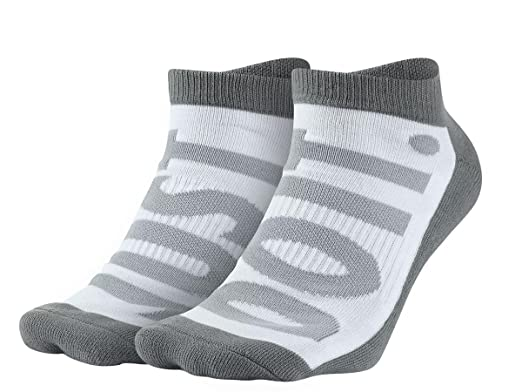 Nike Sportswear - Calcetines para Hombre (2 Pares), Medium, Anthracite/Grey