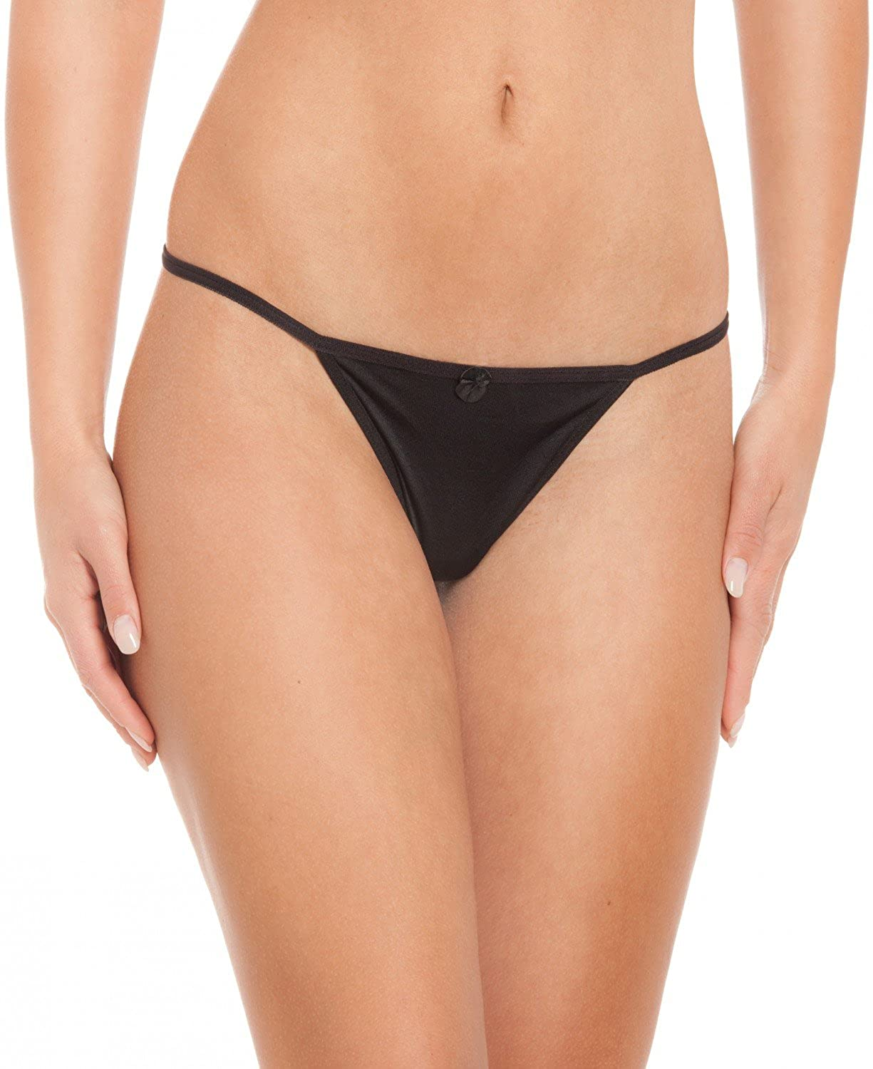 8-pack Strings THONG TANGA with seductive lace details