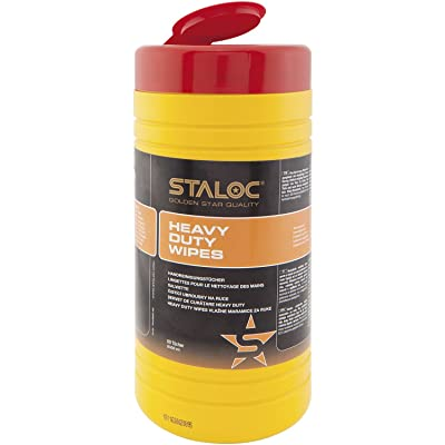 Staloc Cleaning Towels Cleaning Cloths in Dispenser Bucket for Use in The car, Home, Workshop, Ideal for DIY, Pack of 80, 104409055.HD: Home Improvement