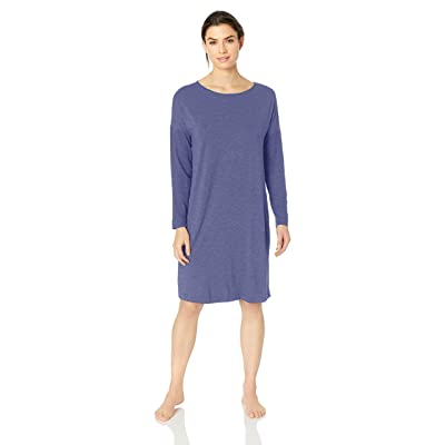 HANRO Women's Natural Elegance Long Sleeve Gown at Women's Clothing store