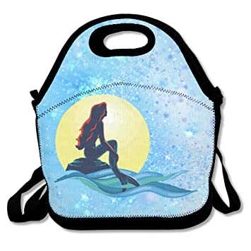 Amazon.com: multifictional Bolsa de almuerzo, Little Mermaid ...