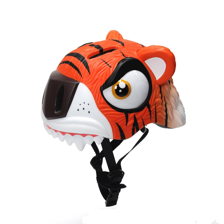 Bavilk Toddler Multi Sports Helmet 3d Cartoon Kids Bike