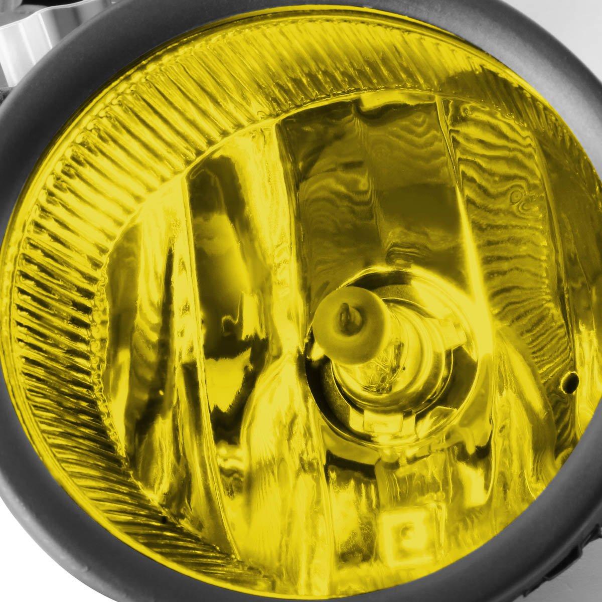 DNA Motoring FL-ZTL-162-AM Front Bumper Fog Light Driver and Passenger Side
