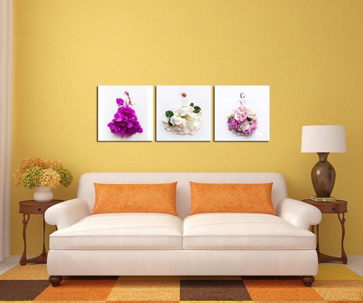 Amazon.com: Gardenia - Creative Petal Women and Girl Dresses Art ...