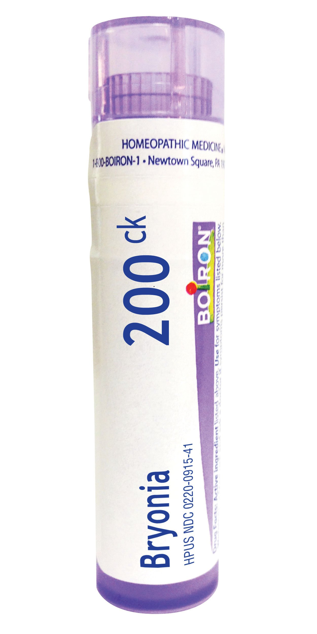 Boiron Bryonia 200C, 80 Pellets, Homeopathic Medicine for Muscle and Joint Pain