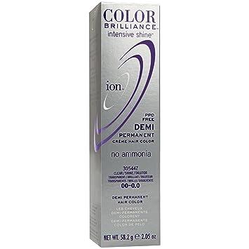 Amazon Ion Intensive Shine 00 Clear Demi Permanent Creme Hair