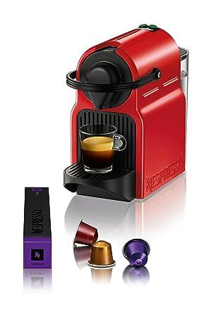 Turmix TX 155 Inissia Ruby Red Automat Cápsulas de Nespresso: Amazon.es: Hogar