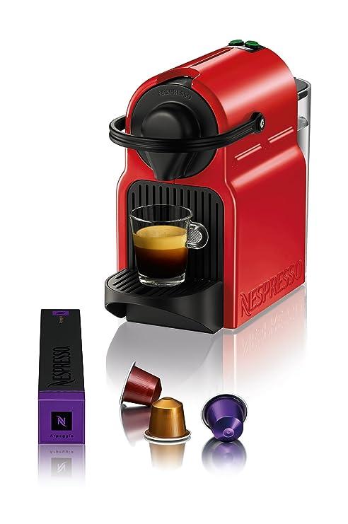Turmix TX 155 Inissia Ruby Red Automat Cápsulas de Nespresso