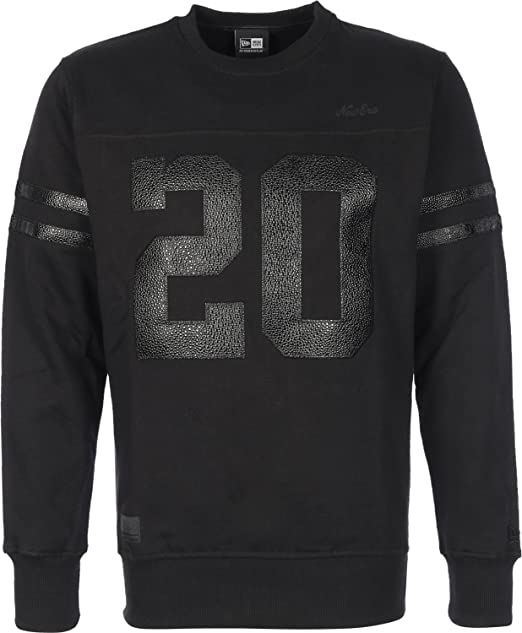 New Era BI Twenty Felpa Uomo S  Amazon.it  Abbigliamento 9aae50fd8d24