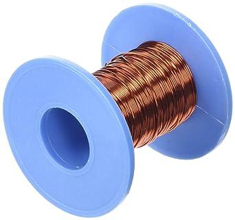 Sourcingmap - 15 m de longitud 0,51 mm de diámetro de cobre esmaltado ppa