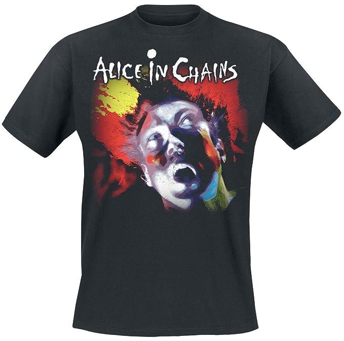 Alice In Chains Facelift Camiseta Negro FPLZmo